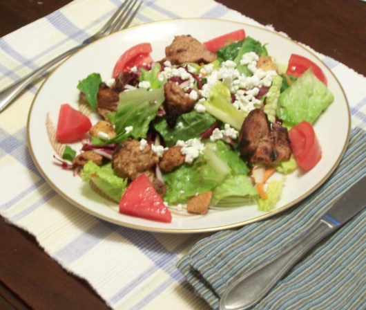 Grilled Pork Salad