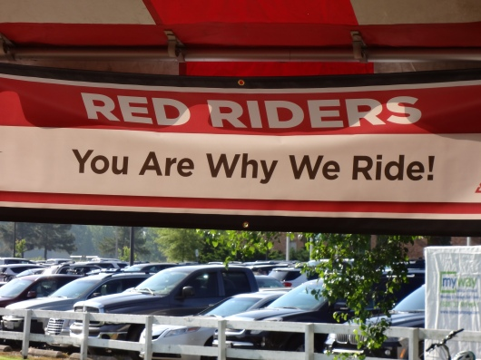 The support of all the Red Riders (riders with diabetes) was amazing and special.  It never gets old.