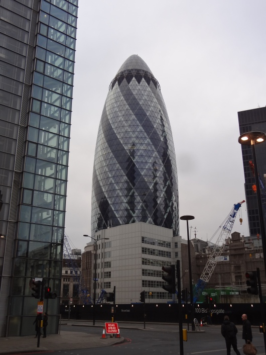 On the same note, I thought the shape of this building was a little phallic.  Beautiful, but phallic.  Anybody want the office on the top floor?