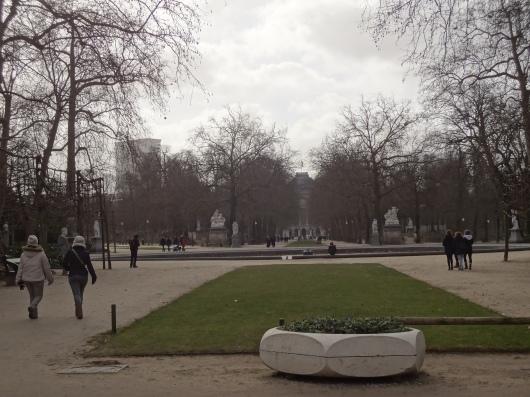 The Parc de Bruxelles.