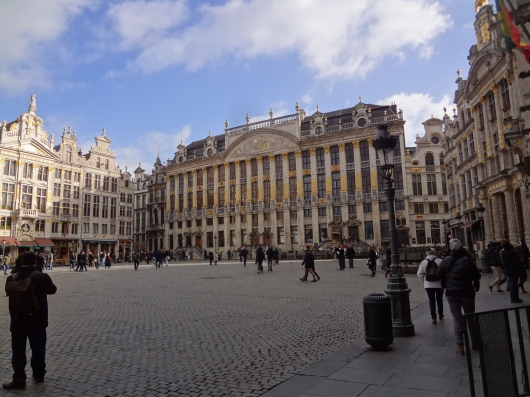 Grand Place.  This area is extremely touristy.  But the archetecture is astounding.