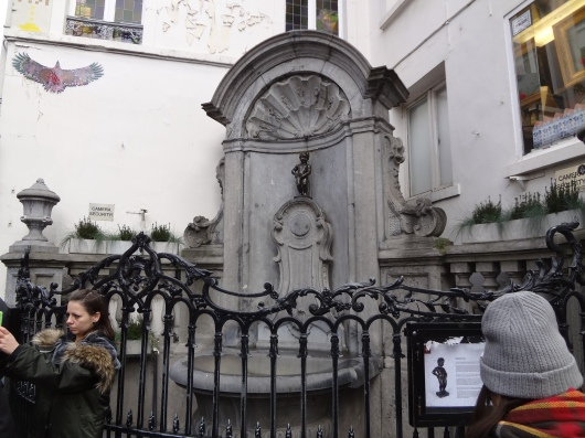 The world famous Mannekin Pis.  Meh.