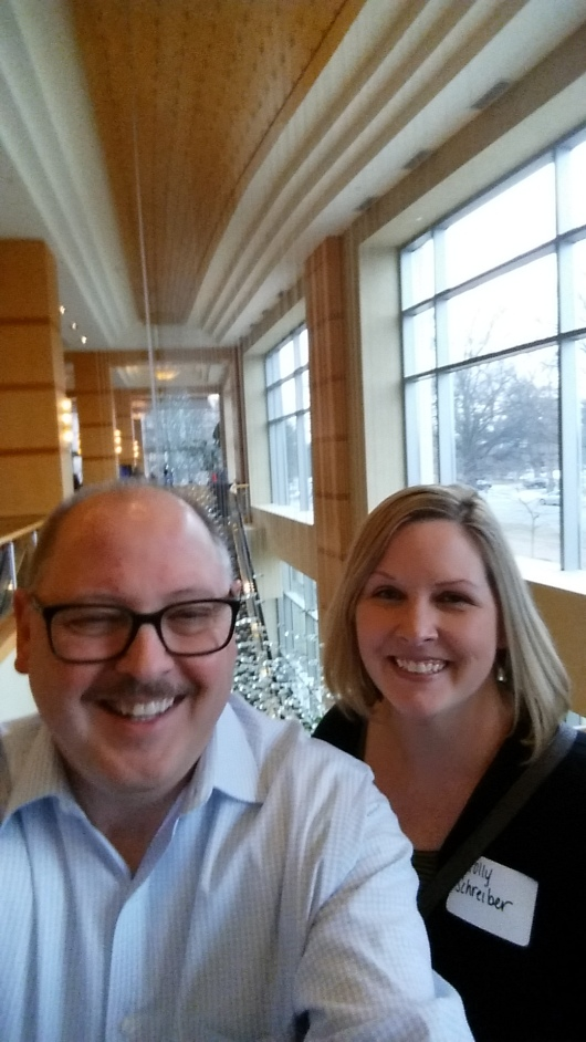 At the JDRF Type One Nation research summit in March, I finally met diabetes (and RA) blogger from Baltimore, Molly Schreiber.