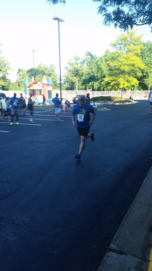 Coming back from knee surgery last year, I was able to run my neighborhood 5k in July.